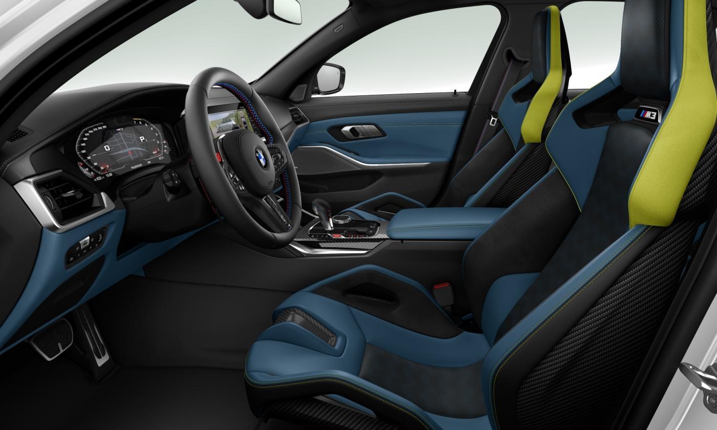 M3 Sedan Competition Carbon Seat