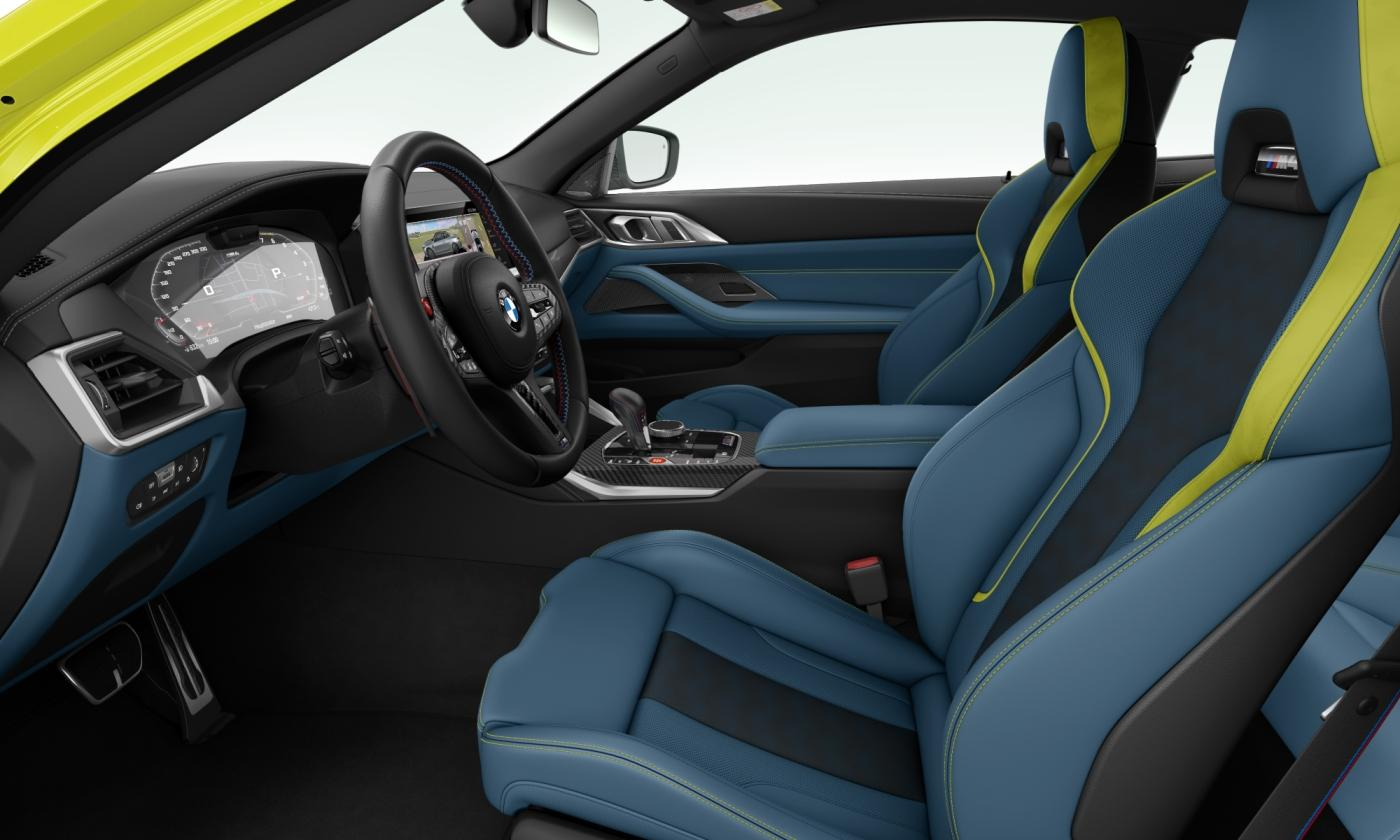 M4 Coupe Competition M Seat
