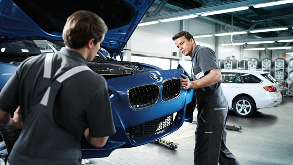 BMW online service appointment